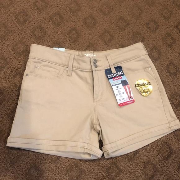 Levi's Pants - Levi's Denizen Roll Cuff Shaping Shorts